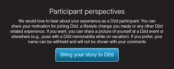 Share your D2d experience