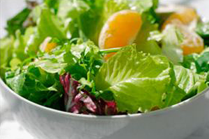 Arugula Salad with Mandarin Oranges